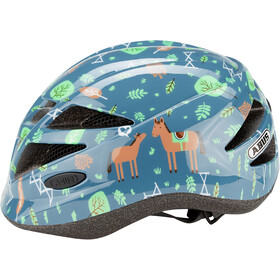 ABUS Hubble 1.1 Cykelhjelm Børn, blue horse